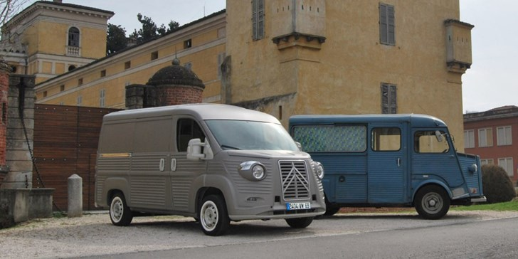 News Citroen Type H 70th Anniversary Van Brings Back 40s Flair