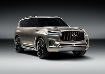 Infiniti QX80 Monograph Shown Prior To NYIAS Unveil