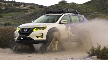 Rogue Warrior Trail Is Another Tank-Like Nissan SUV