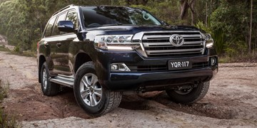 2017 Toyota Land Cruiser Altitude