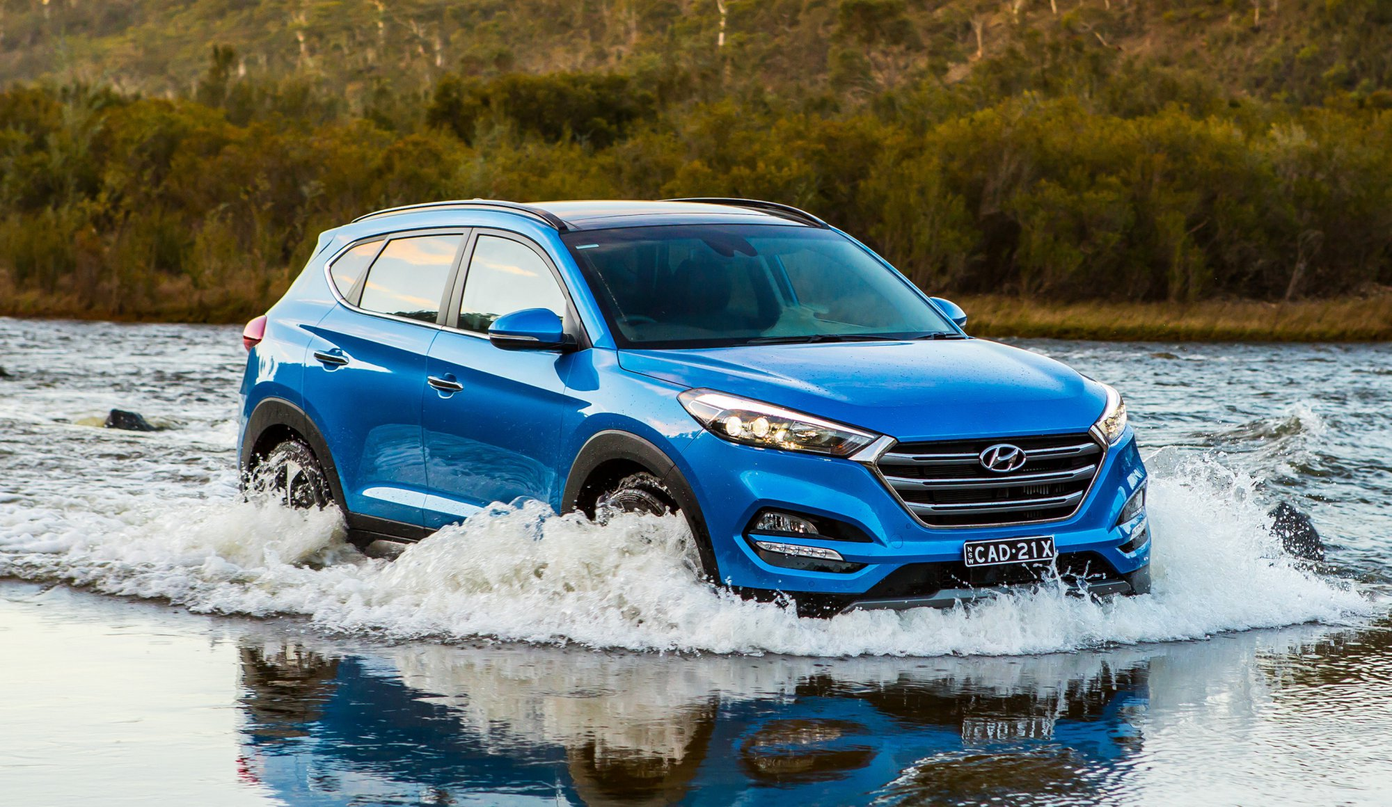 Hyundai Santa Fe 2018 Model >> News - 2018 Hyundai Tucson Gets Brawnier, Smarter