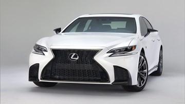 2018 Lexus LS500 F-Sport Unveiled In New York