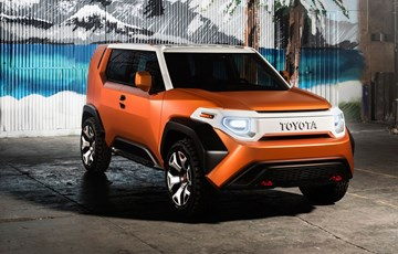 2017 Toyota FT-4X Concept - New York Motor Show
