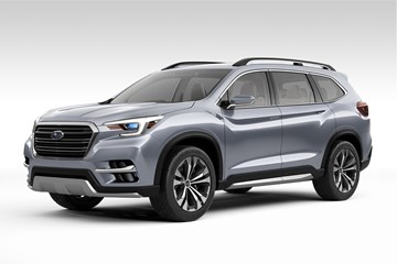Subaru Ascent Previews Impending 7-Seater SUV