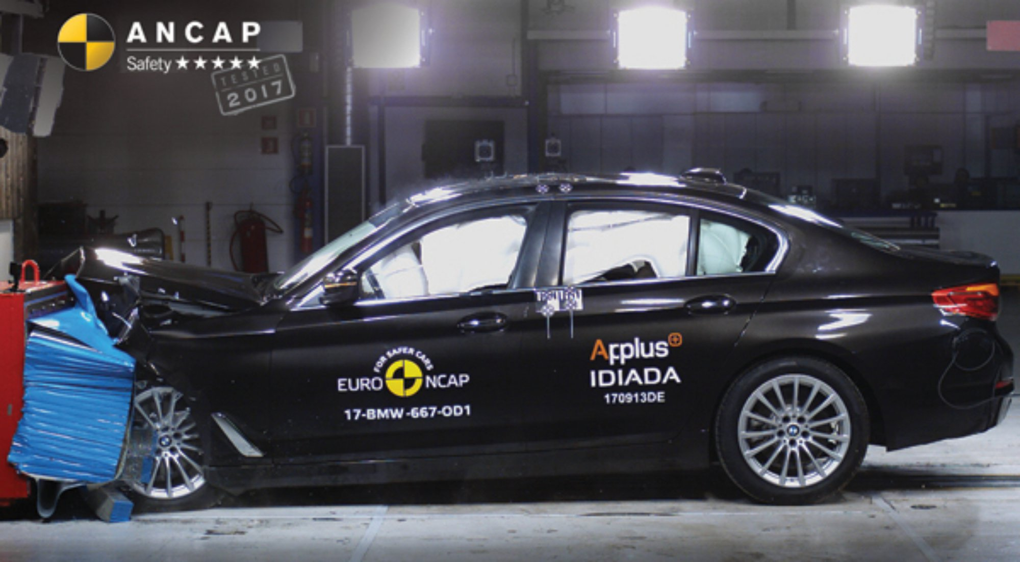 News 2017 bmw 520d mercedes benz marco polo activity for Mercedes benz safety rating