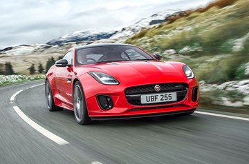 Jaguar F-Type Gains 220kW Turbo Four-Pot