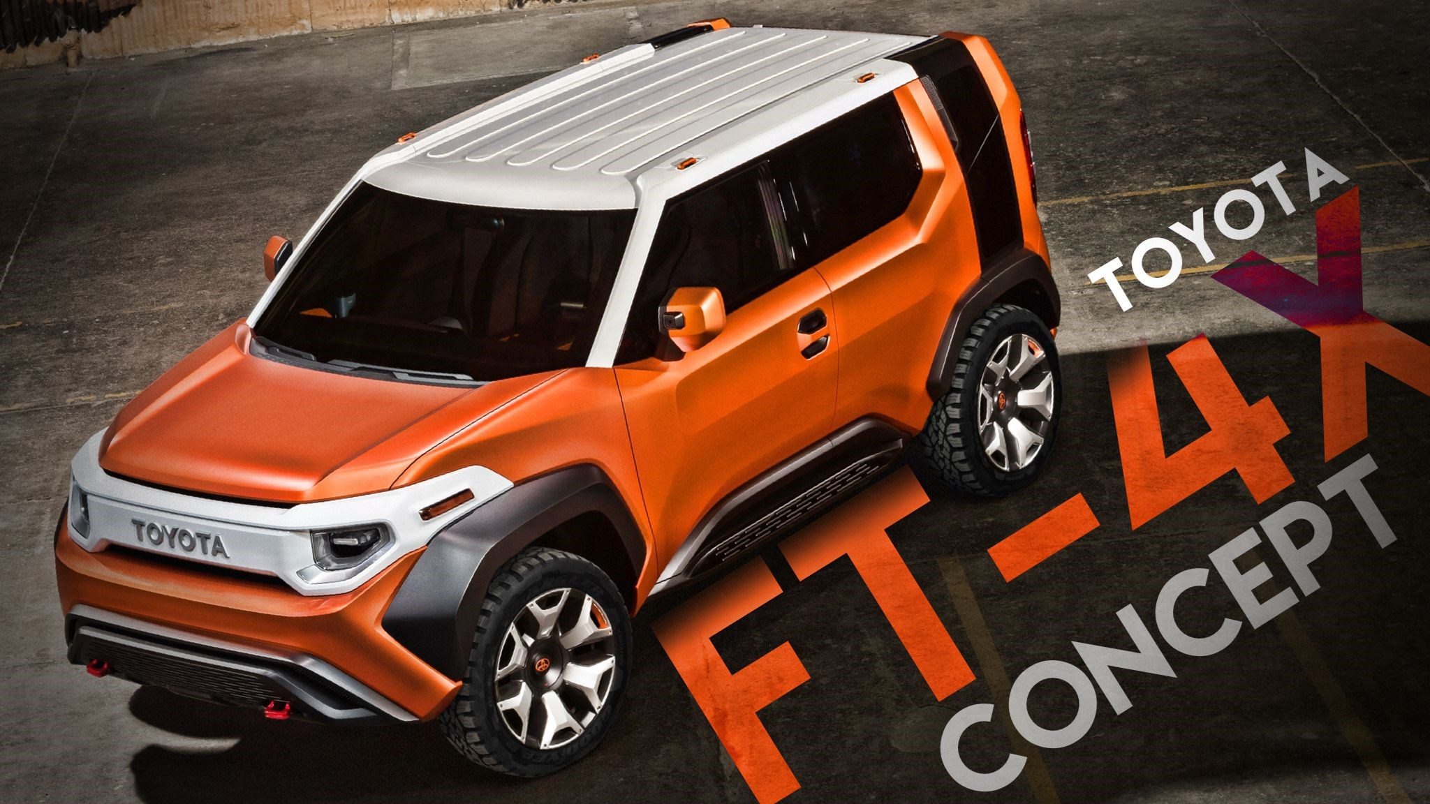 Toyota's FT-4X Concept, Gadget-Obsessed Outdoorsman
