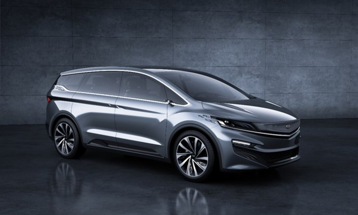 Geely MPV Concept Revealed