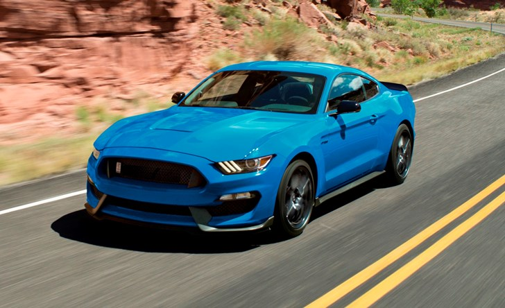 Ford Mustang Shelby Gt Unchanged Through