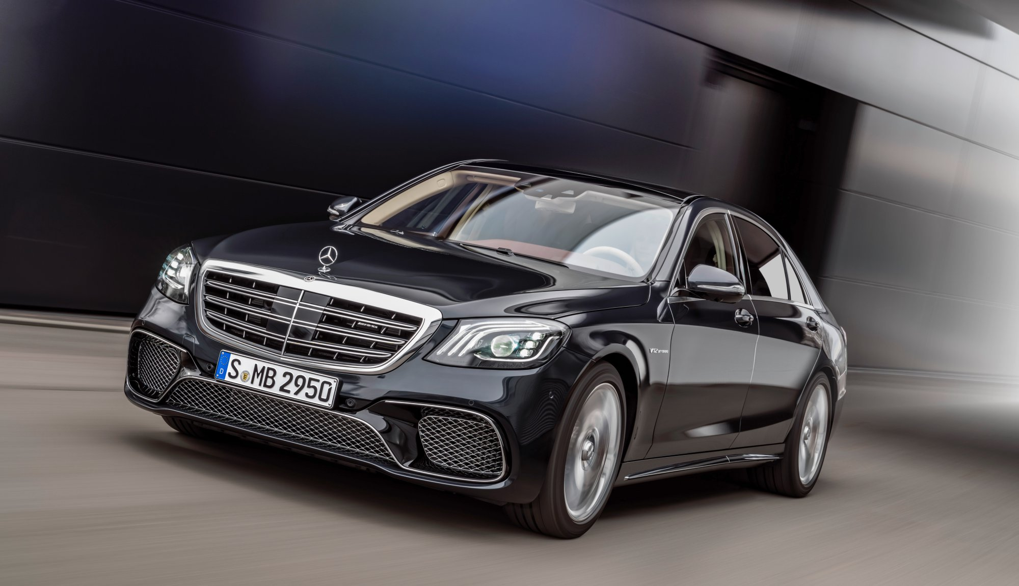 news 2017 mercedes benz s class limo revised still awesome. Black Bedroom Furniture Sets. Home Design Ideas