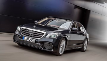 2017 Mercedes-Benz S-Class Unveiled In Shanghai