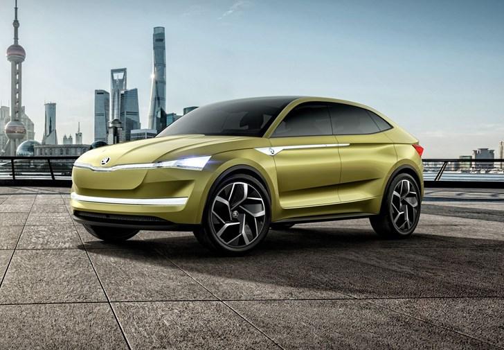 2017 Skoda Vision E Concept - Shanghai Motor Show