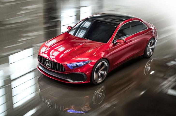 2017 Mercedes-Benz Concept A Saloon