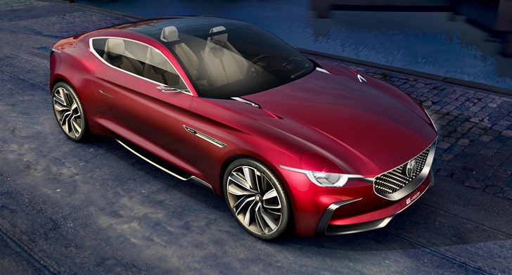 MG E-Motion Concept Previews 2020 Production Car