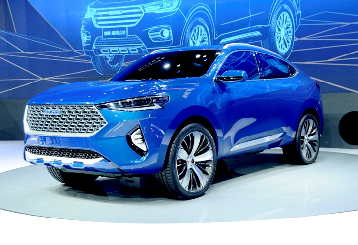 2017 Haval HB-03 Concept - Shanghai Motor Show