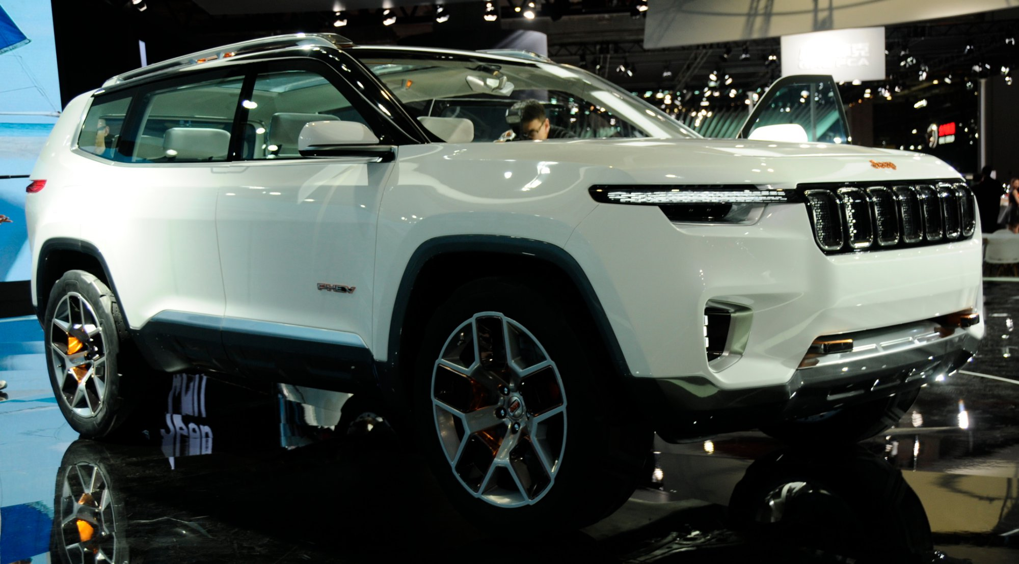 7 Seater Suv 2017 >> News - Jeep Yuntu Concept Previews New 7-Seater