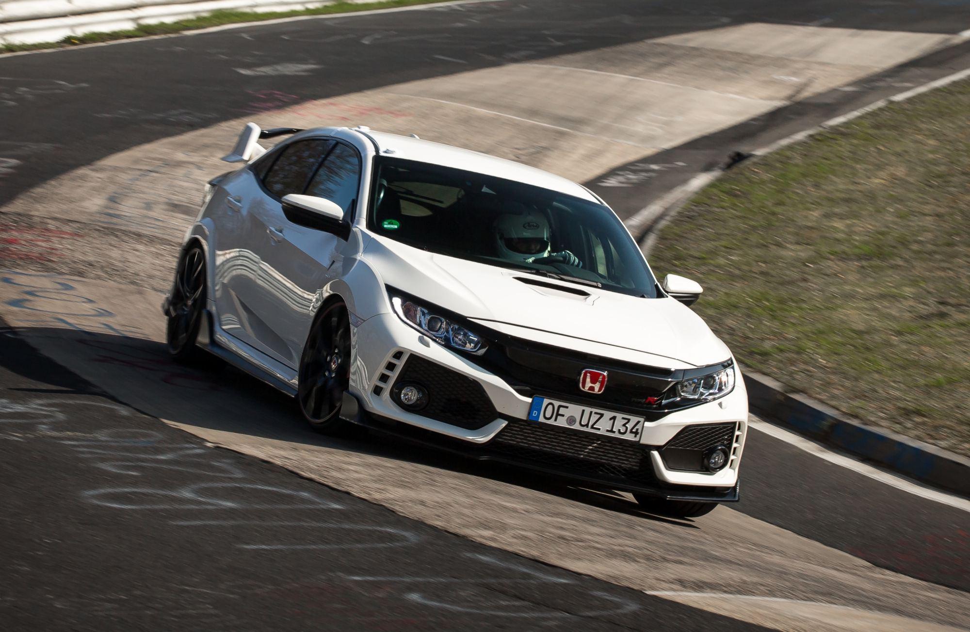 News Honda Civic Type R Retakes Fwd Nurburgring Lap Crown