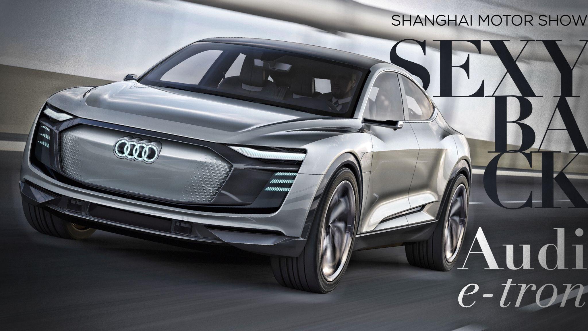 Audi Unveils Futuristic e-tron Sportback Concept
