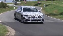 2018 Audi A8 Spyshots