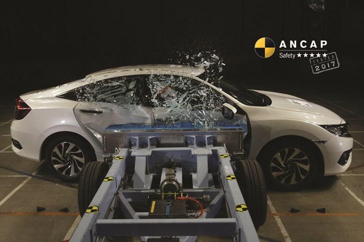 Hyundai i30, Honda Civic Hatch Get 5-Star ANCAP Scores
