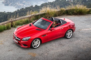 Mercedes-Benz Lobs New SLC 180 To Combat MX-5 RF