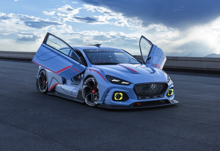 News Hyundai To Unveil Sleek Two Door I30 N Fastback