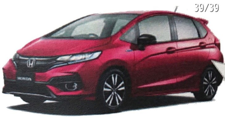2017 Honda Jazz Facelift Outed