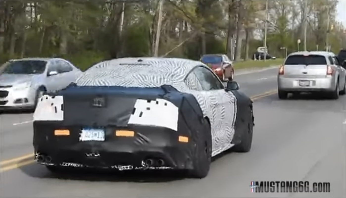 News Ford Mustang Gt500 Edges Closer To Full Unveil