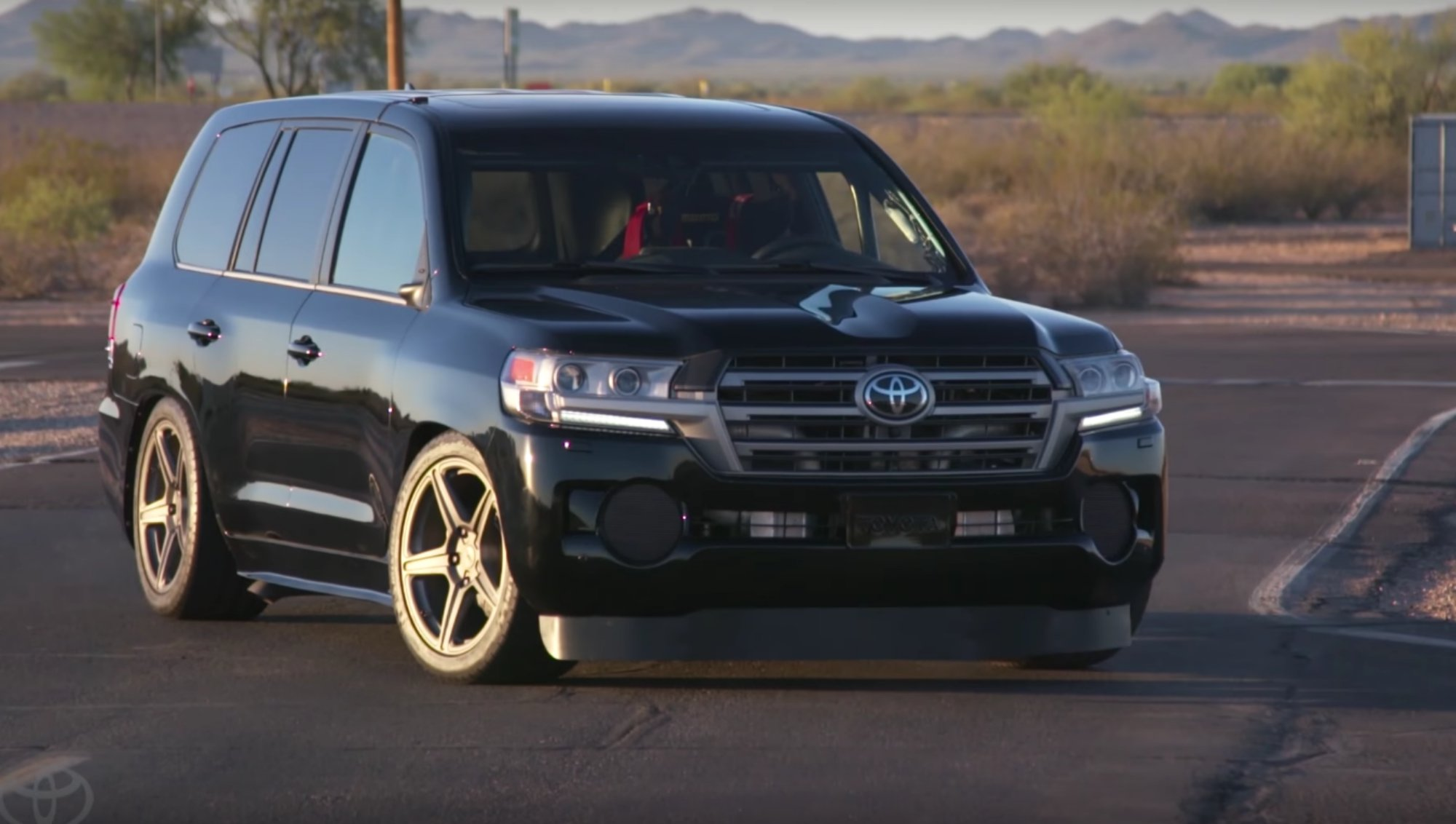 News Toyota Land Cruiser The World S Fastest Suv