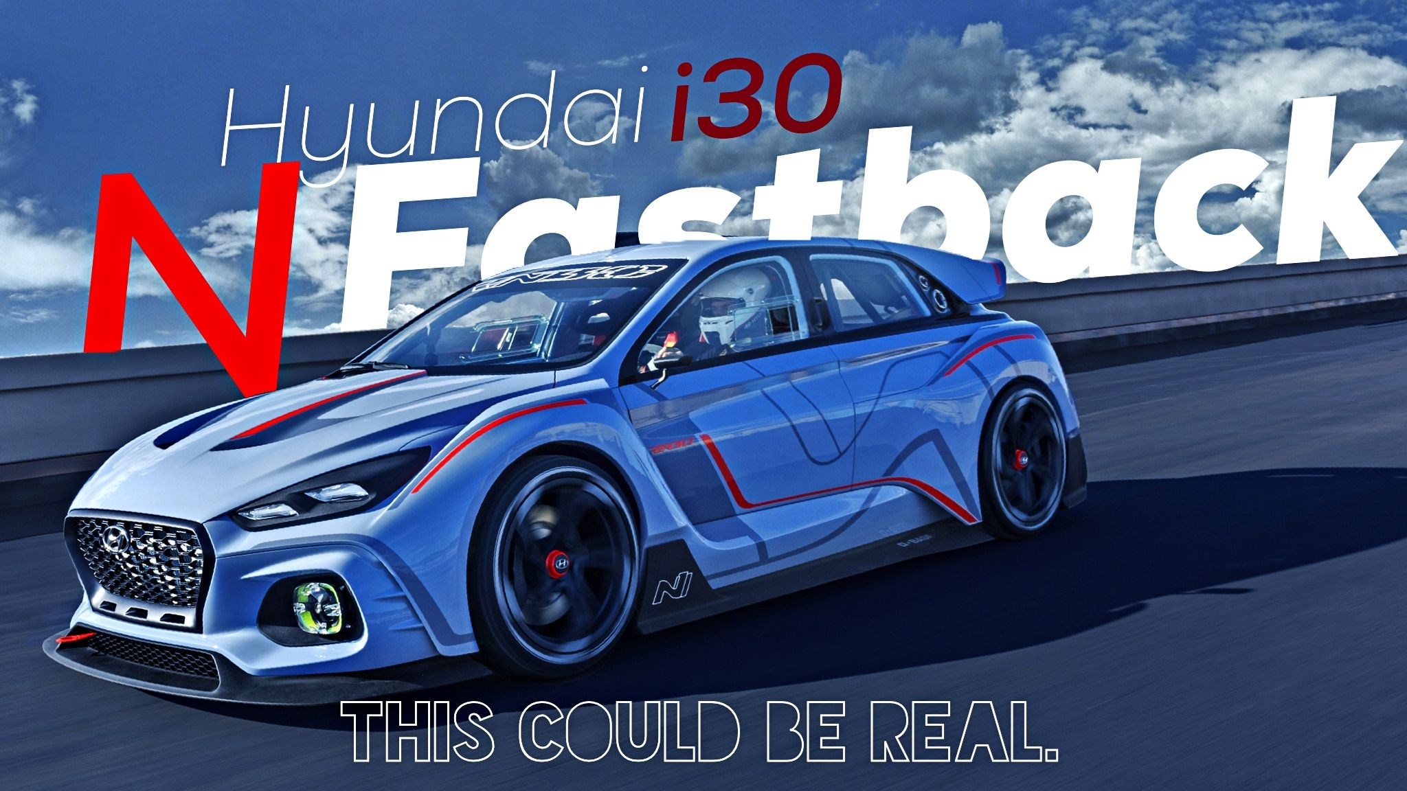 Hyundai To Unveil Sleek Two-Door i30 N Fastback
