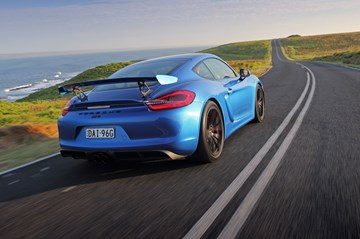 Porsche's Next Cayman GT4 Keeps Atmospheric Flat Six