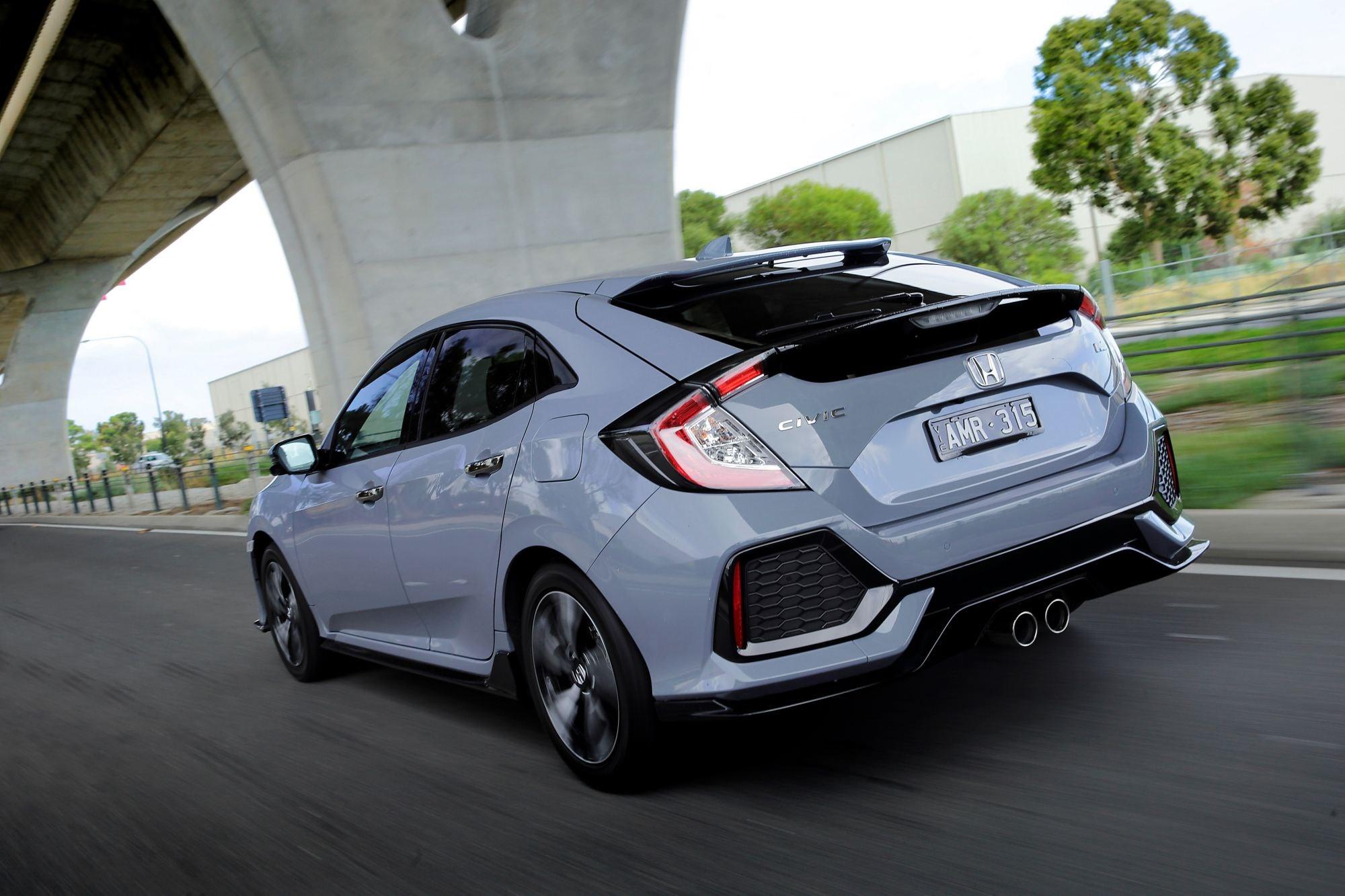Honda Civic Hatch Arrives Down Under Thumbnail
