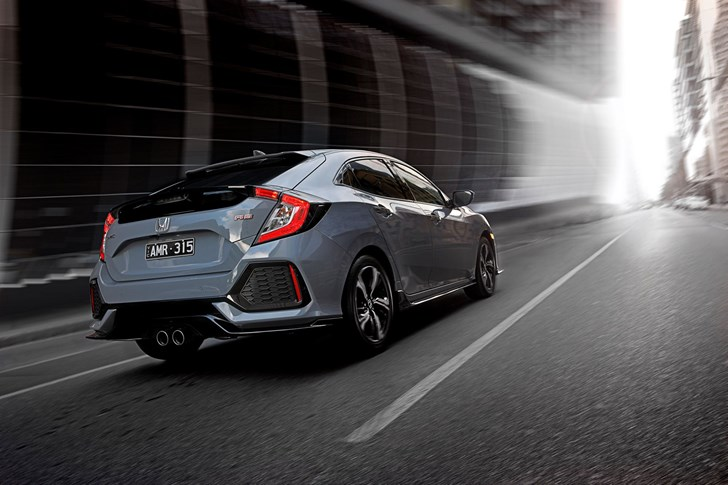 2017 Honda Civic Hatchback - Australia -