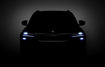 Skoda Teases Karoq SUV Ahead Of Debut