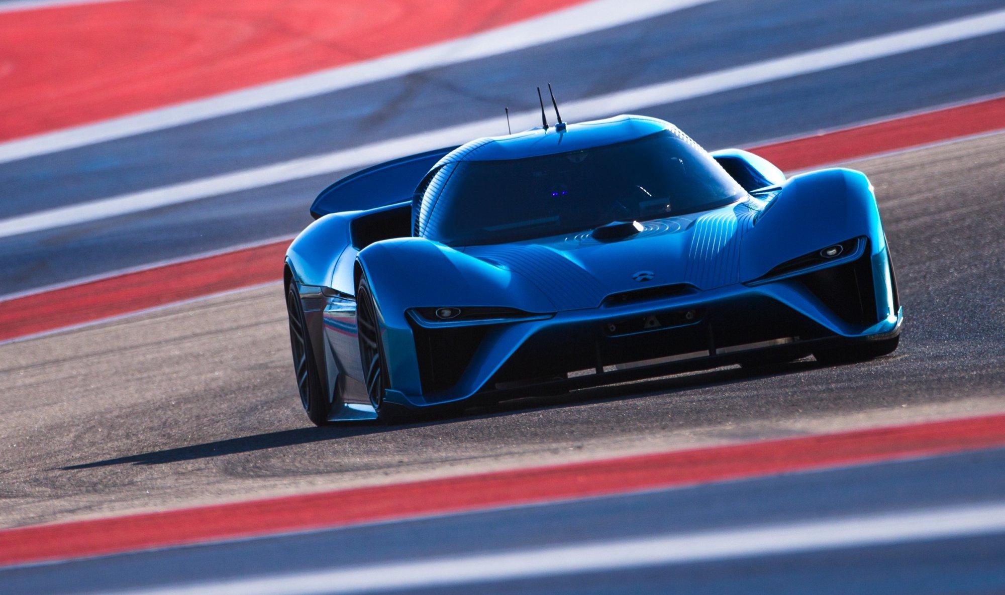 News Nio Ep9 Sets Record Breaking N 252 Rburgring Lap Time