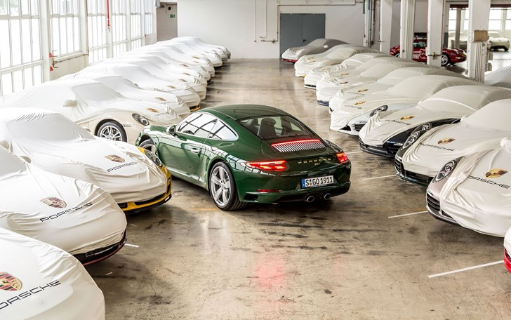Porsche's One-Millionth 911 Rolls Off Production Line