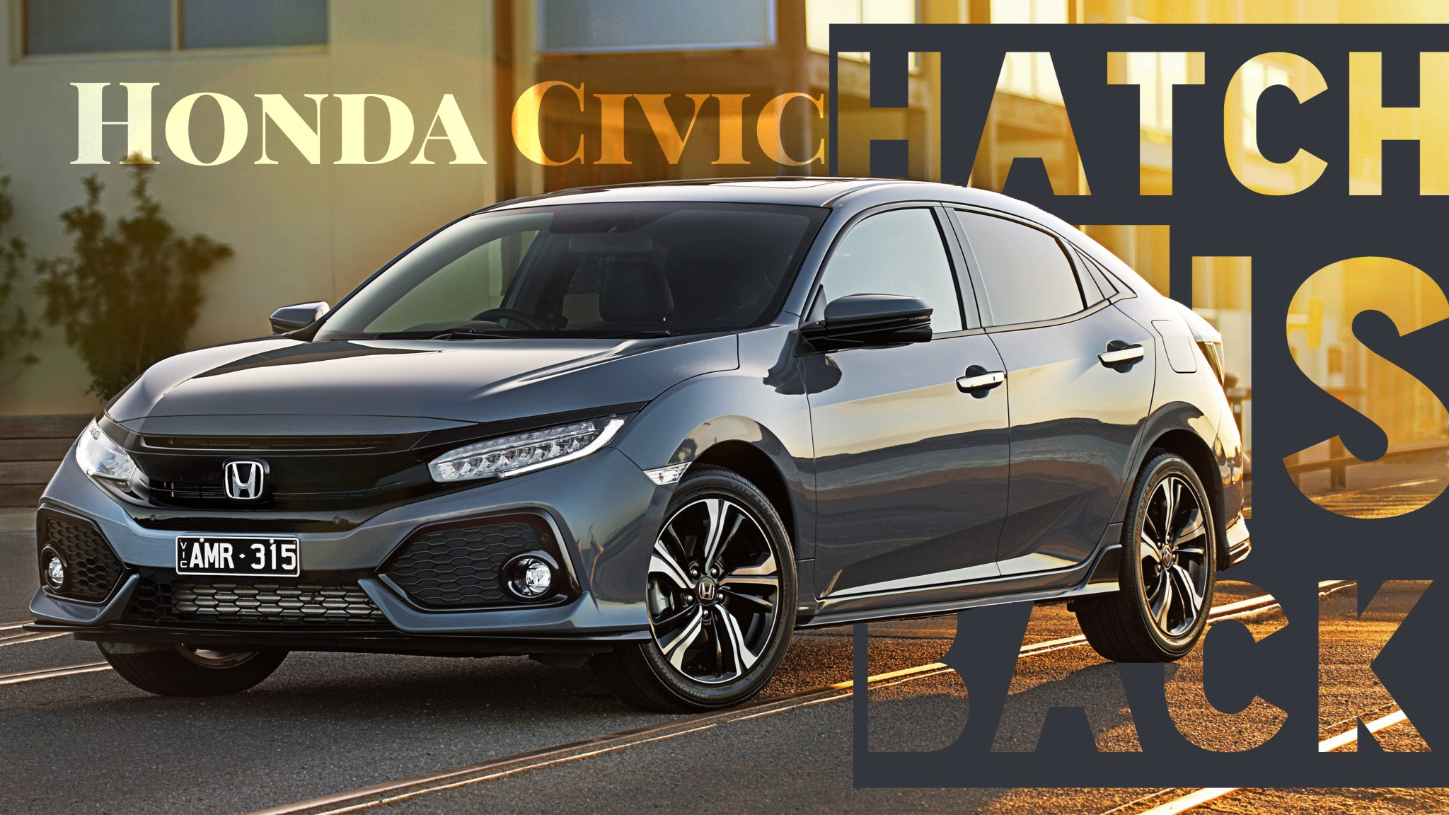 Honda Civic Hatch Arrives Down Under