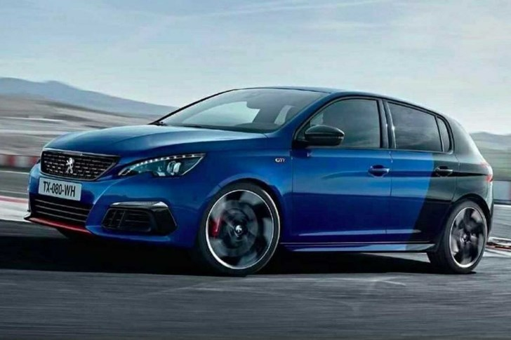 Facelifted Peugeot 308GTi Outed On Twitter