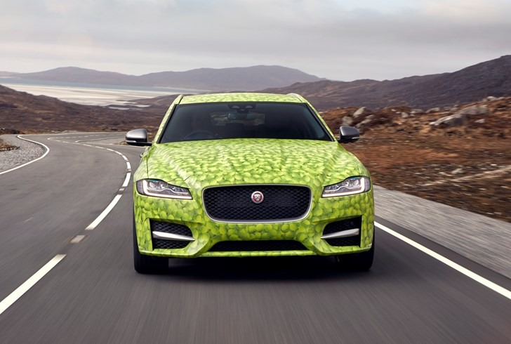 2018 Jaguar XF Sportbrake - Journey to Wimbledon