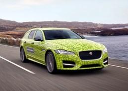 Jaguar Teases XF Sportbrake - Journey To Wimbledon