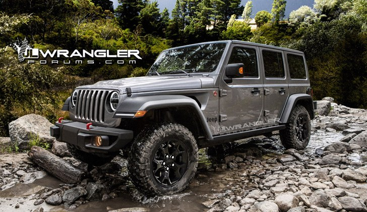 More 2018 Jeep Wrangler Details Emerge