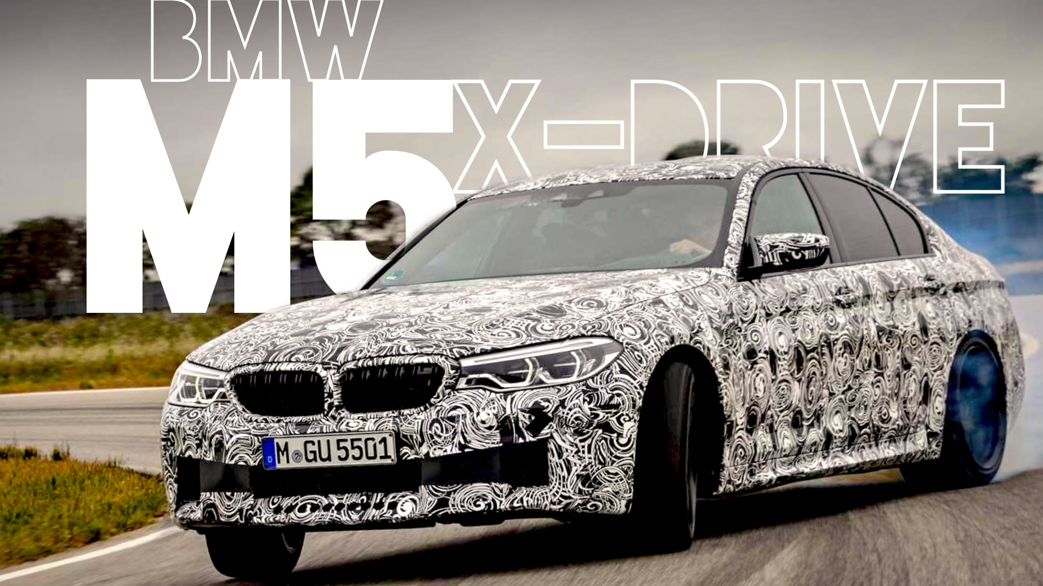 2018 BMW M5 Revealed With All-Wheel Drive