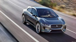 Jaguar I-Pace Potters Sneakily Around Monaco