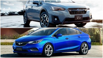 ANCAP Awards Subaru XV, Holden Astra Saloon 5-Stars