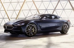 BMW 8 Series Concept, First Images Emerge