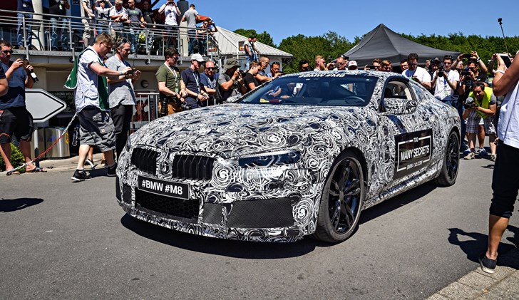 The 2018 BMW M8 Is Coming