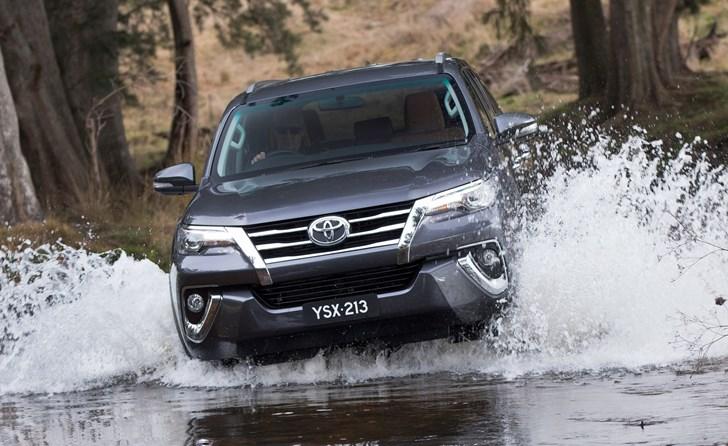 2017 Toyota Fortuner Crusade