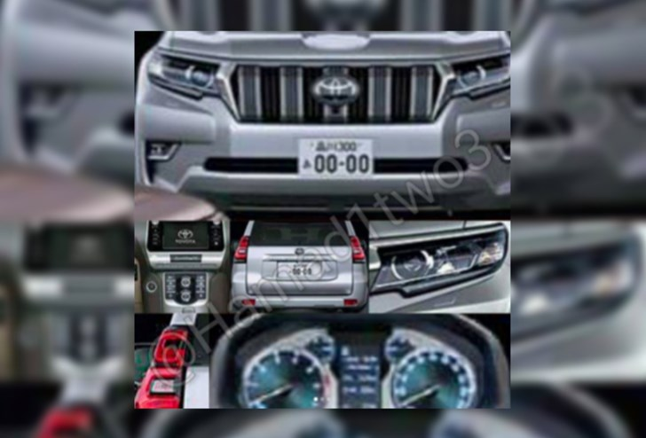 News - 2018 Toyota Prado Outed… On Instagram?