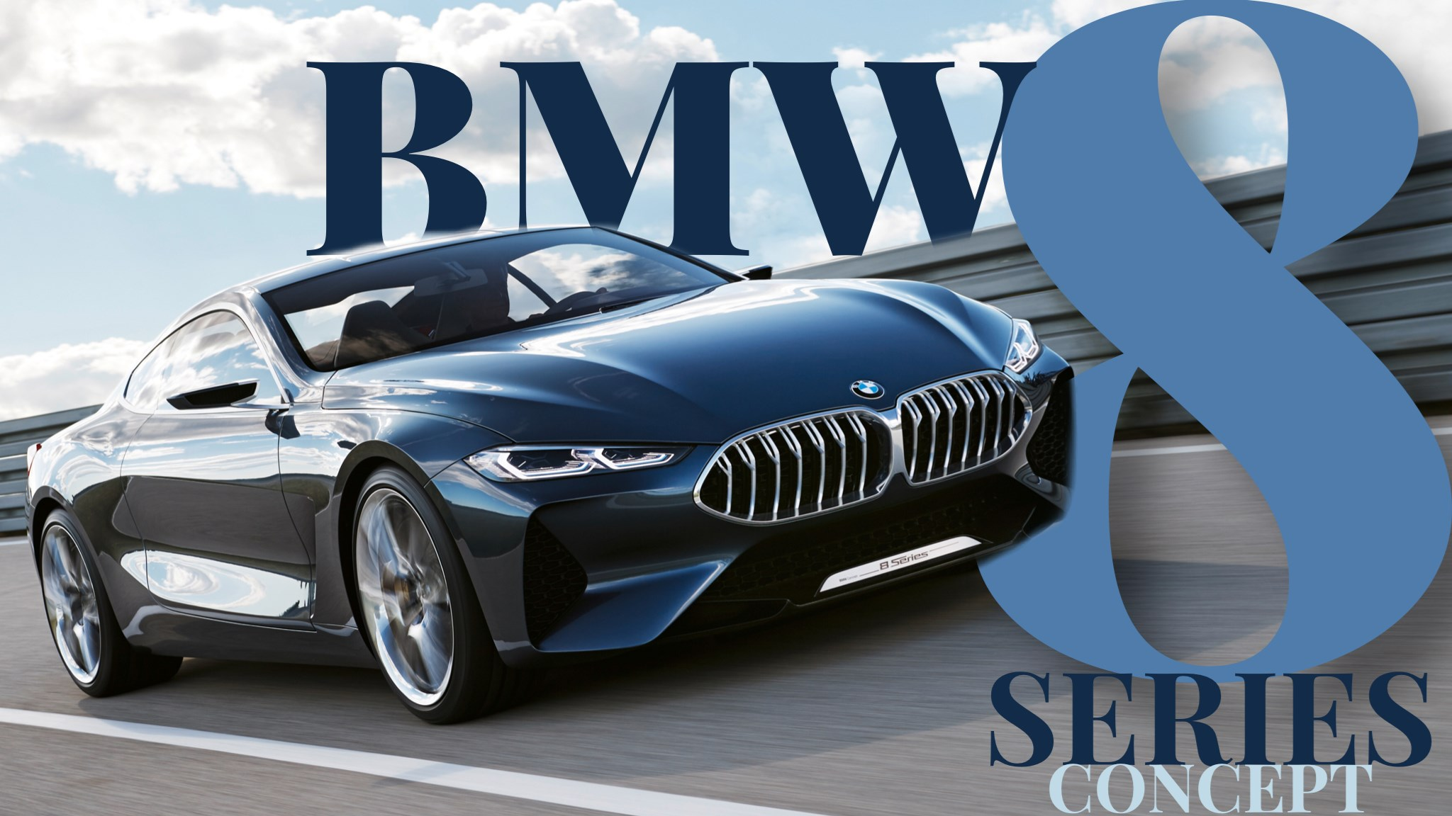 BMW Unveils Concept 8-Series, Due Next Year