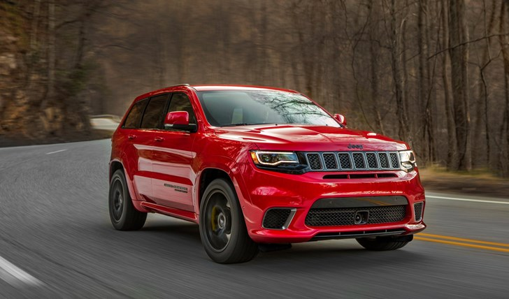 2018 Jeep Grand Cherokee Trackhawk Coming To Oz